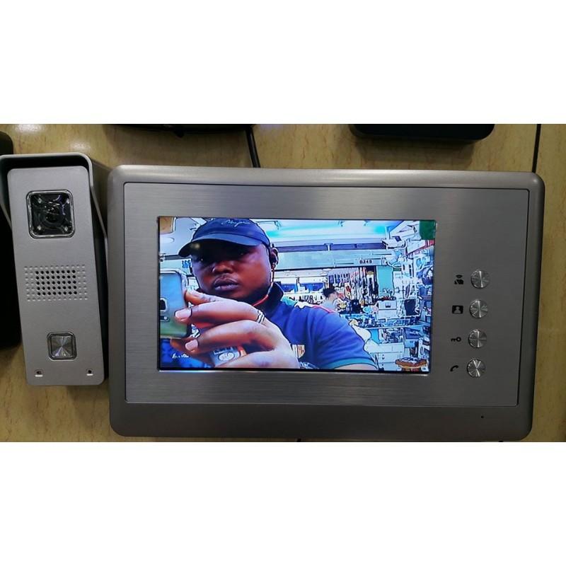 INTERPHONE CAMERA INFRA ROUGE + ECRAN LCD