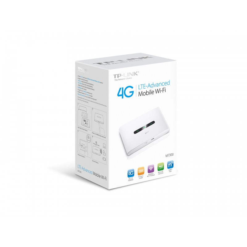 Wi-Fi POKET 4G LTE-Advanced M7300