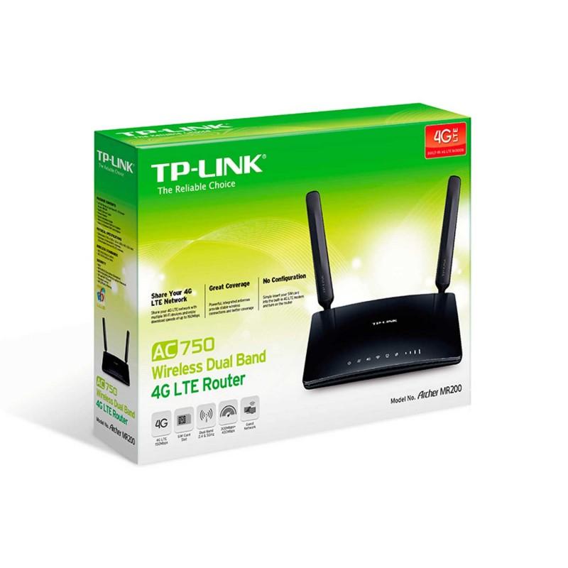 Routeur sans fil TP Link 4G LTE avec Wi-Fi dual band
