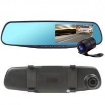 Rétroviseur caméra full HD double objectif