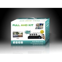 Kit 4 caméras vidéosurveillance  AHD   2,0 MégaPixels