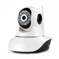 SOMIN Caméra d'intérieur motorisée à vision nocturne connectée