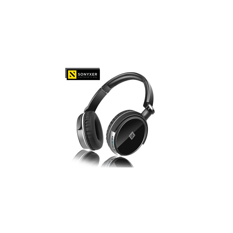 Casque sport bluetooth Sonyxer Gear 1  avec suppression du bruit compatible iphone tous les smartphones Android