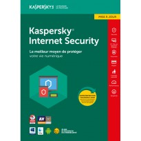 Kaspersky Internet Security 2018 - 3 Postes + 1 Licence