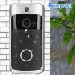 Wi-FI Video Doorbell,Sonnette sans Fil Vidéo 720P HD avec Système Audio Bidirectionnel,pour Android/iOS