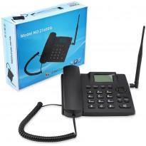 Téléphone fixe sans fil gsm zt600g avec double carte sim