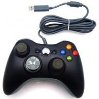 manette Xbox 360 filaire noir