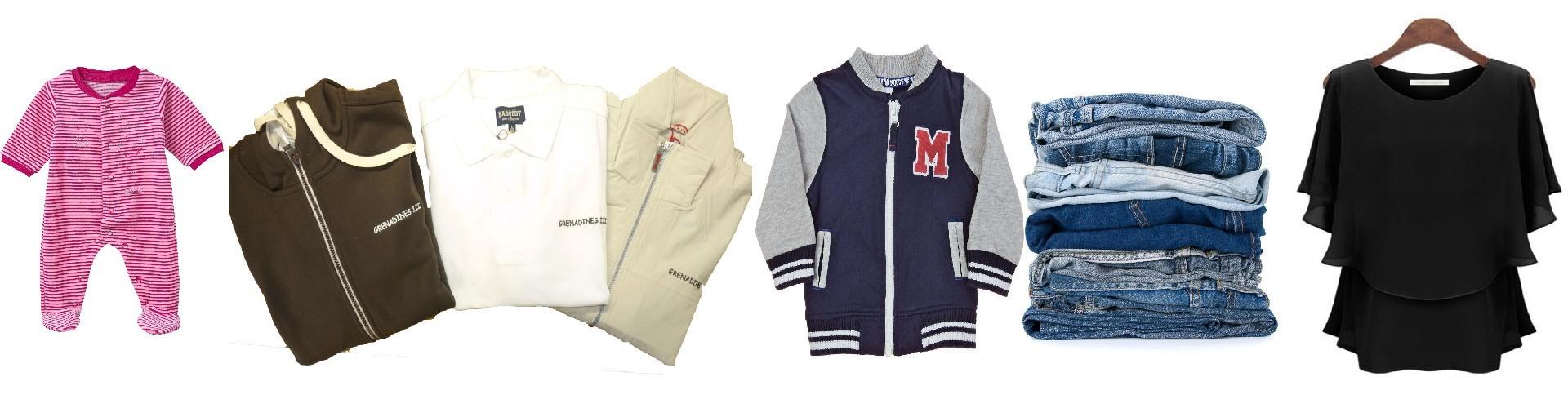 Vêtements adultes/Enfants/Bébés