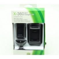 kit câble batterie 4800 mAh  rechargeable et chargeur xbox360