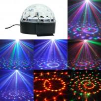projecteur  boule magique cristal