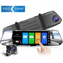 Caméra De Recul Caméra Avant Rétroviseur écran Tactile 7 Pouces