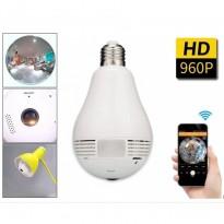 Ampoule Caméra de sécurité WIFI  panoramique 360 ° sans fil