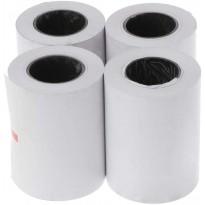 papier thermique 57 x 50 mm Lot de 4 rouleaux pour imprimante thermique 58 mm