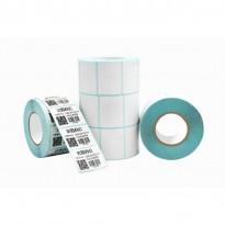 Papier Thermique Autocollant Pour Imprimante, Codes-barres 40X30mn - Blanc